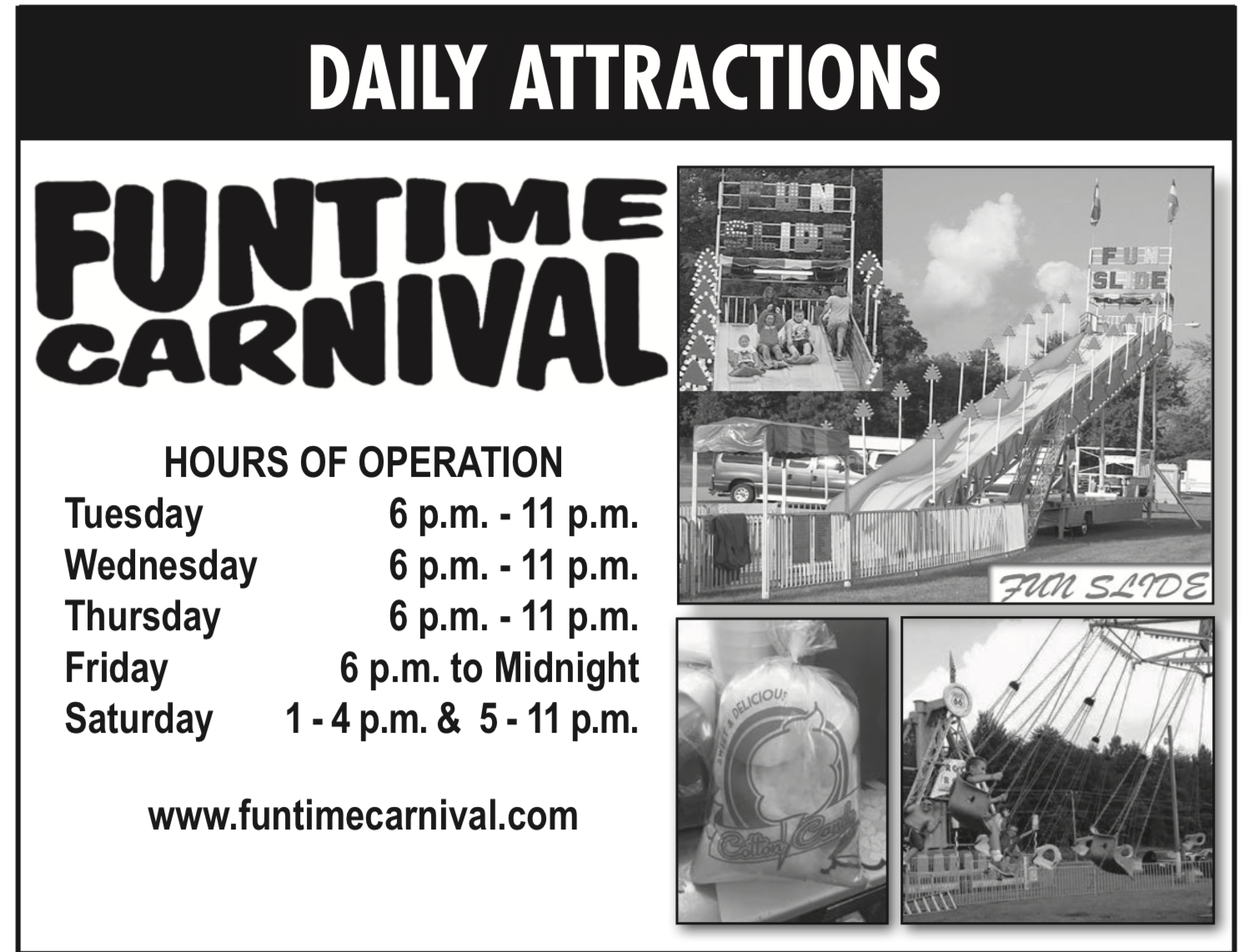 Funtime Carnival Rides Open – Lincoln County, MO Fair