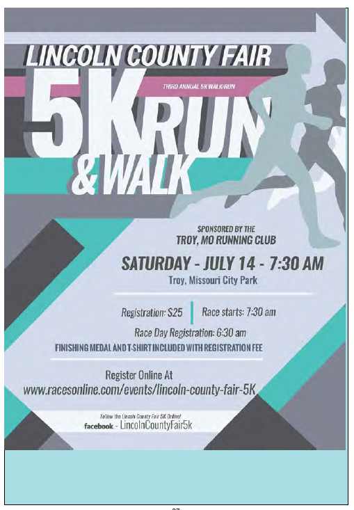 Lincoln County Fair 5K Run/Walk