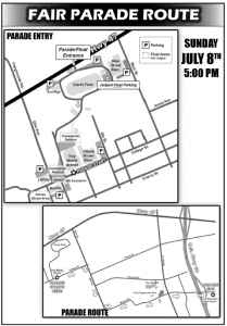 2018 Fair Parade Route